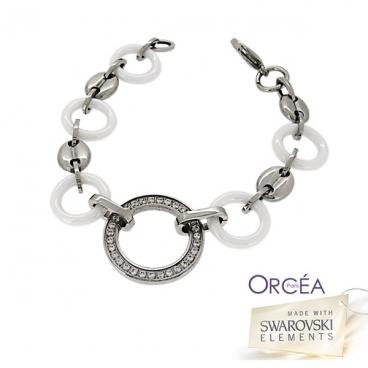 Bracelet céramique orné de Swarovski Elements