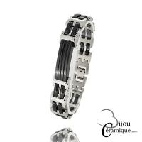 Bracelet céramique Homme